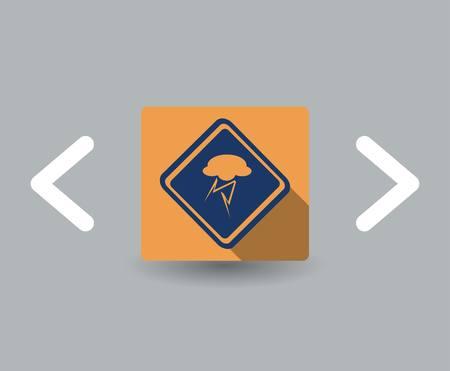 storm icon Stock Vector - 23712751