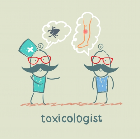 said: toxicologist said the poison spider patient