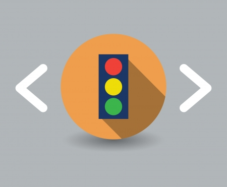 traffic icon Vector