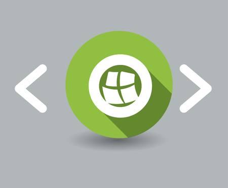window icon 向量圖像