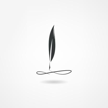 Stift-Symbol Standard-Bild - 23977396