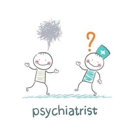 psychiatrist afraid of crazy patient