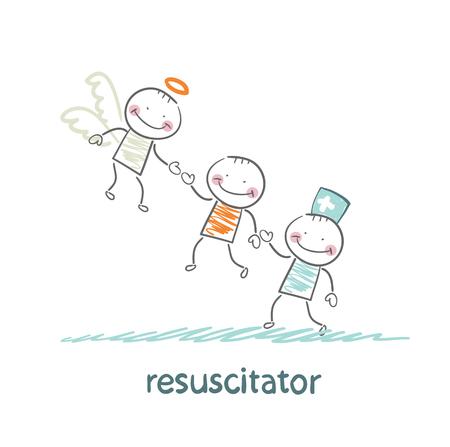 keeps: resuscitator keeps patients picking up Angel