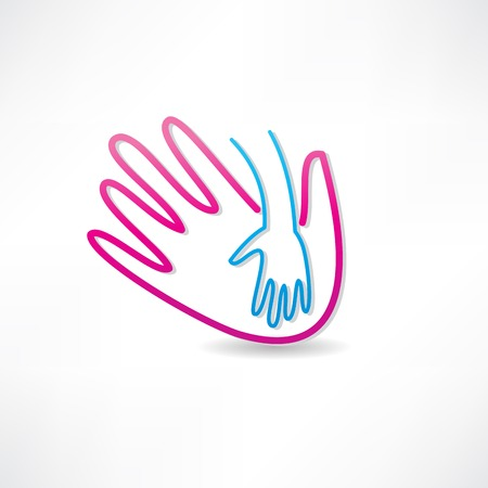 parental hand icon