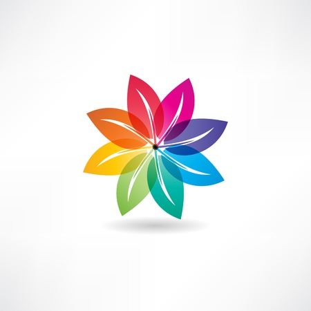 eco leaf abstraction icon Stock Vector - 24583953