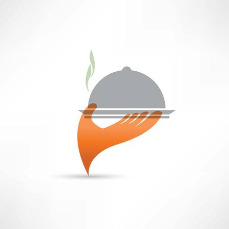 brunch: bridge over the river abstraction icon