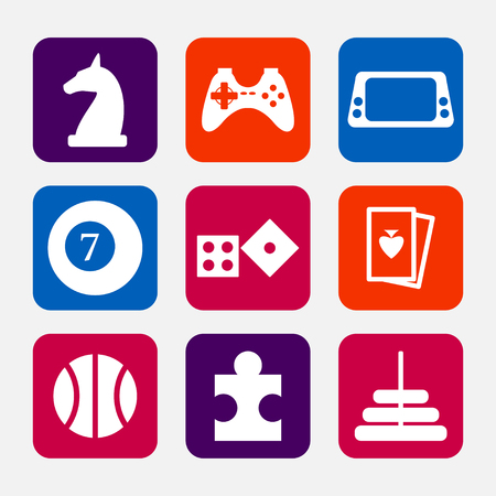 board games: Games icons