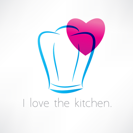 love to cook icon Vector