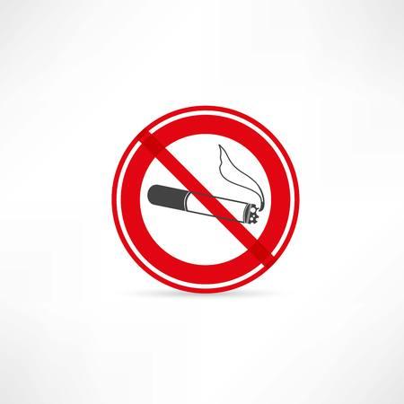 carcinogen: No aparece el icono de fumar Vectores