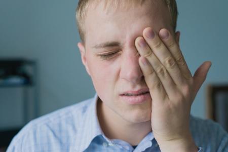 tormented: Males sore headache