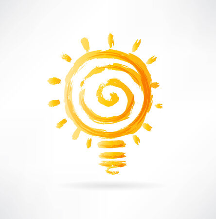 fluorescent lights: lightbulb icon