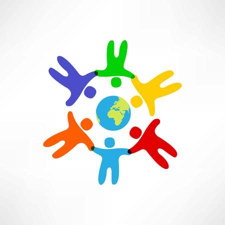 world friendship icon Vector