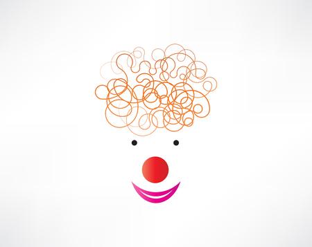 clown face icon Stock Vector - 24743464
