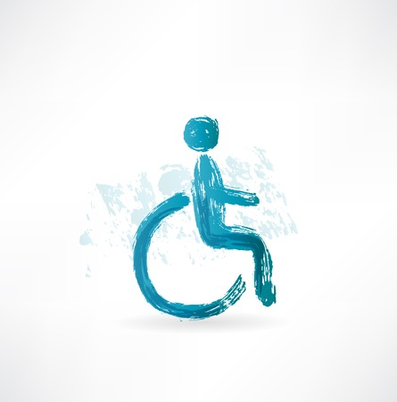 wheelchair users: symbol wheelchair users icon