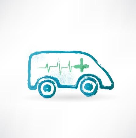 emergency response: ambulance icon