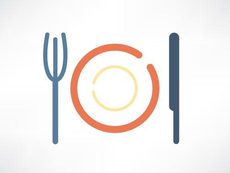creative kitchen items icon