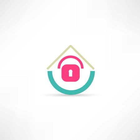 insulate: castle house abstraction icon