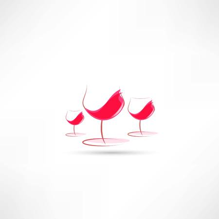 hogshead: wine in the glass icon