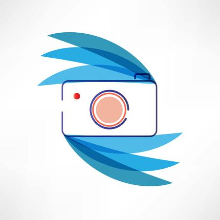 Digital cam icon Stock Photo