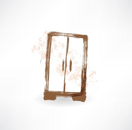 wardrobe grunge icon. photo