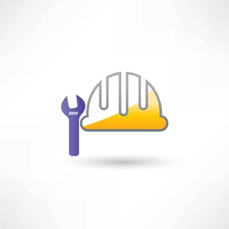 helmet and wrench icon