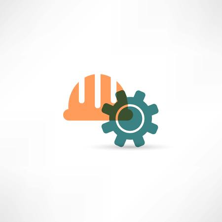 Settings tools icon Stock Photo