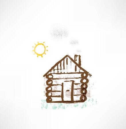 cottage grunge icon.