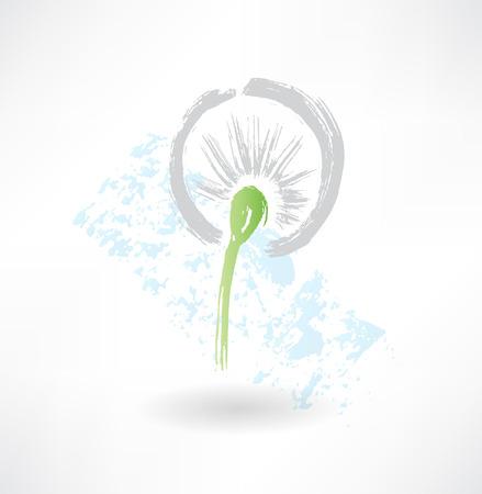 dandelion grunge icon