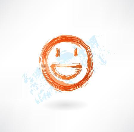emote: happy grunge icon
