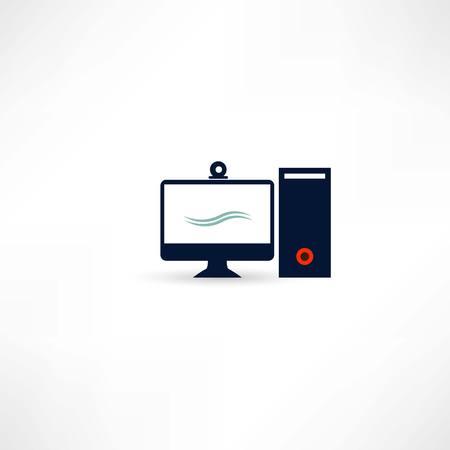 pc: pc computer Illustration