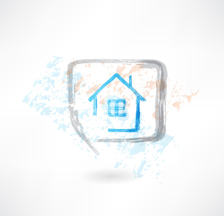 house in the speech bubble Vector