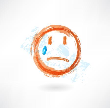 emote: Sad grunge icon