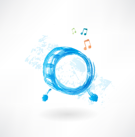 snare: music drum grunge icon