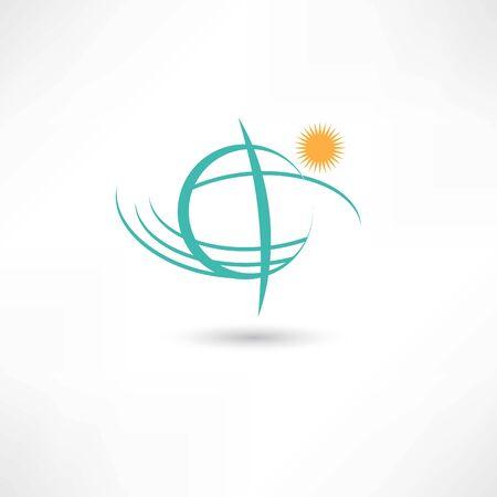 simple planet symbol
