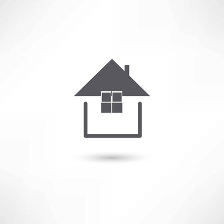 simple house: simple house symbol