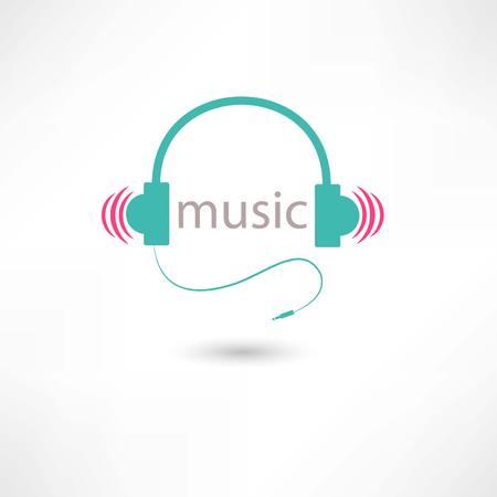 écouteurs de musique de couleur