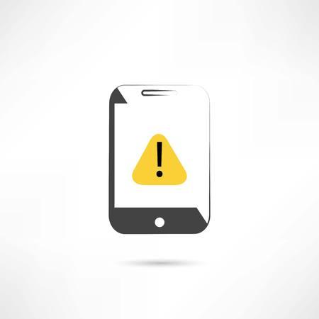 cellphone: Warning on cellphone