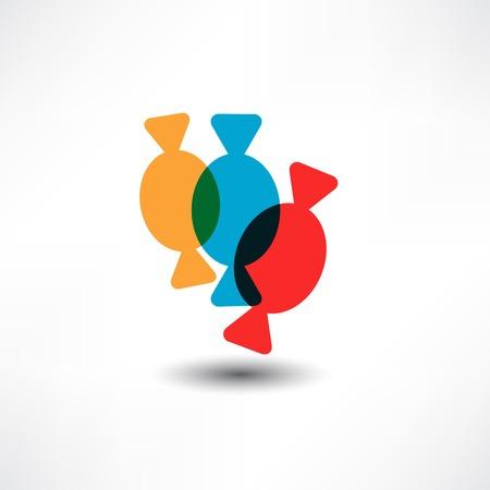 Three candys