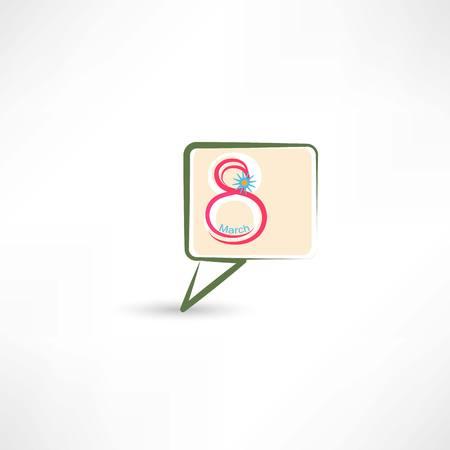 8 march in bubble speech