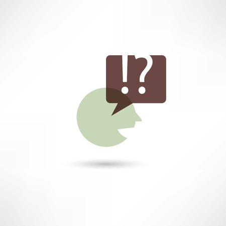 somebody: Somebody speaks Illustration