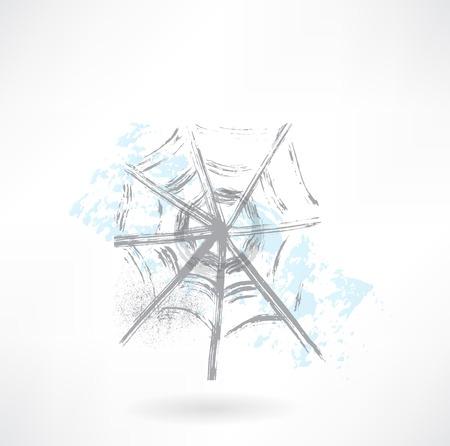 cobweb grunge icon