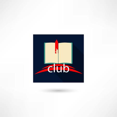 Club book in the square