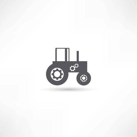 farming tractor Illustration