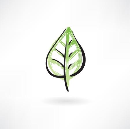 green leaf 向量圖像