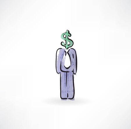 dollar instead of a head Vector