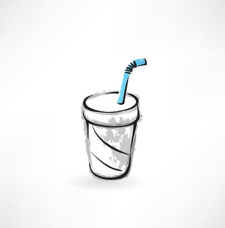 aeration: drink grunge icon