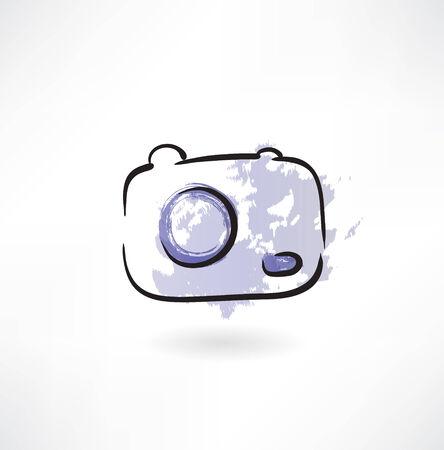 whim: Camera grunge icon Illustration