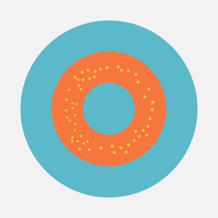 bagel: bagel icoon