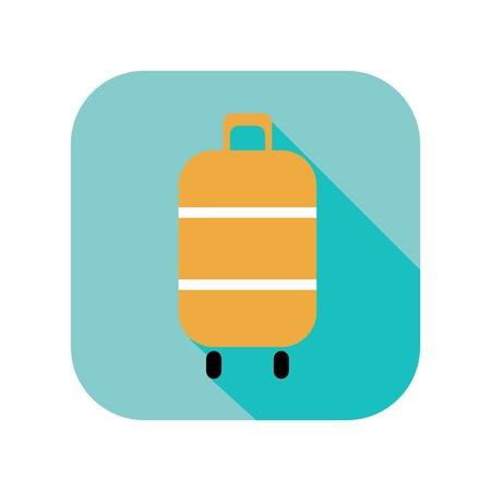 Icono de equipaje Foto de archivo - 26178681