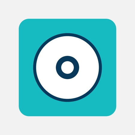 blu ray: Optical disk icon